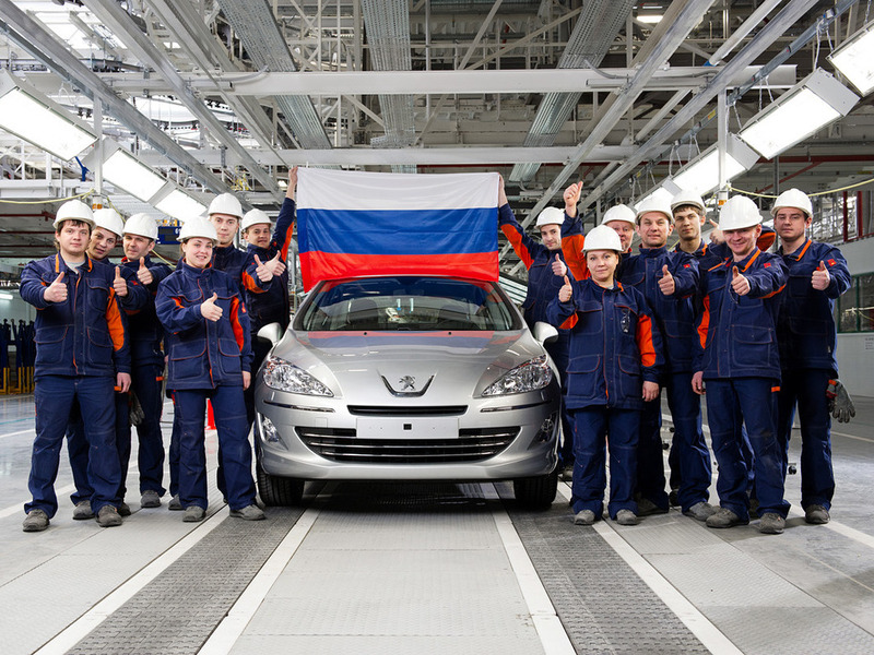 В Калуге началась сборка Peugeot 408