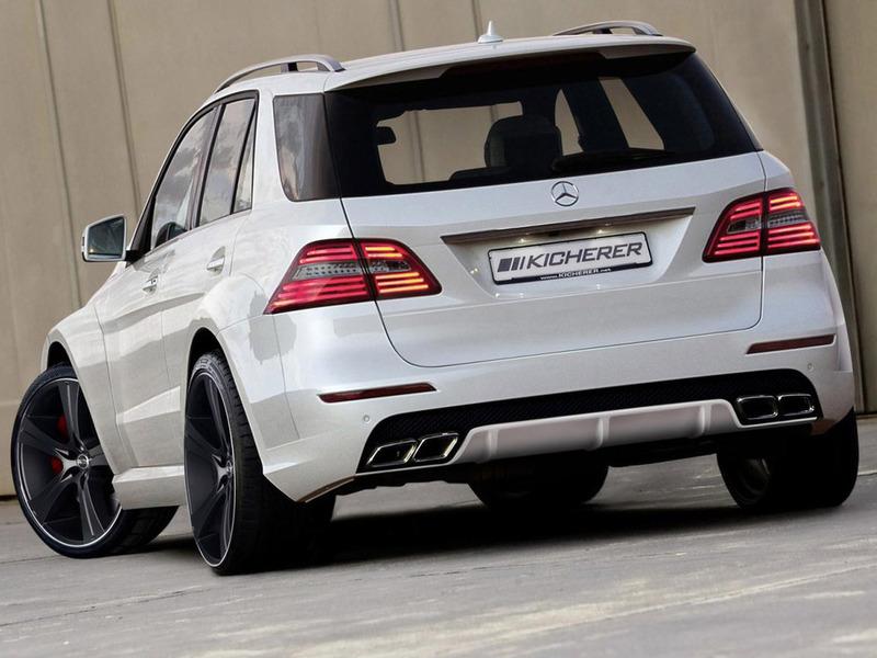 Mercedes-Benz ML получил набор для стайлинга от Kicherer