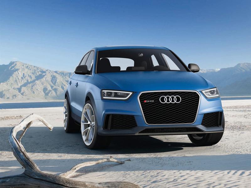 Прототип заряженного Audi Q3 покажут в Пекине