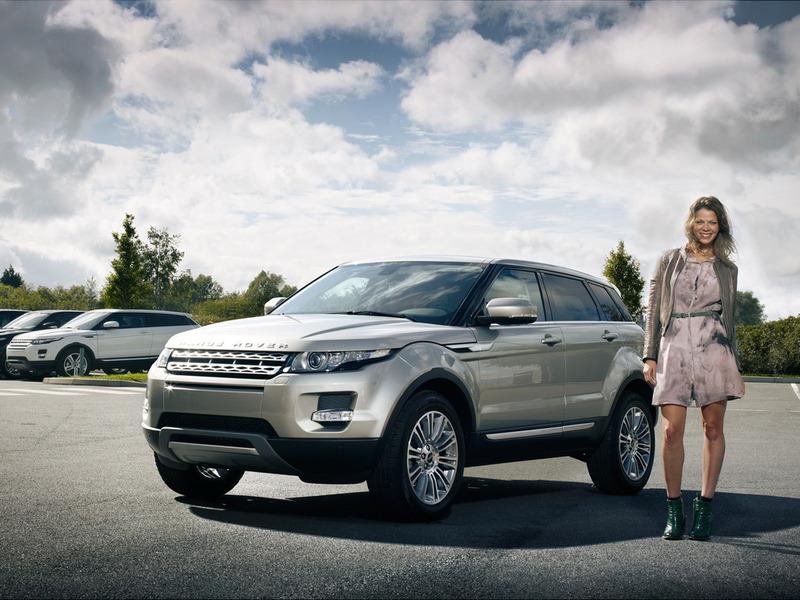 Лучшим женским автомобилем стал Range Rover Evoque