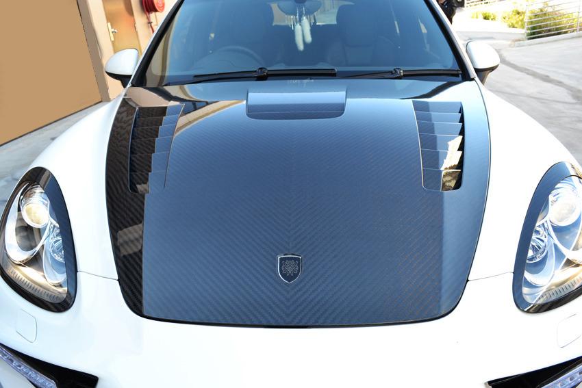 Ателье DMC добавило Porsche Cayenne 150 л.с.
