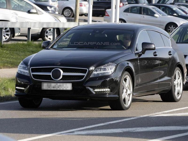 Mercedes-Benz CLS Shooting Brake все ближе к конвейеру