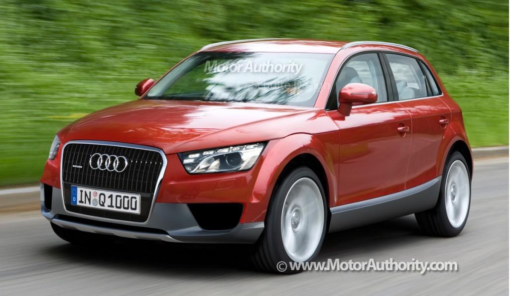 Audi Q2 построят на модульной платформе VW
