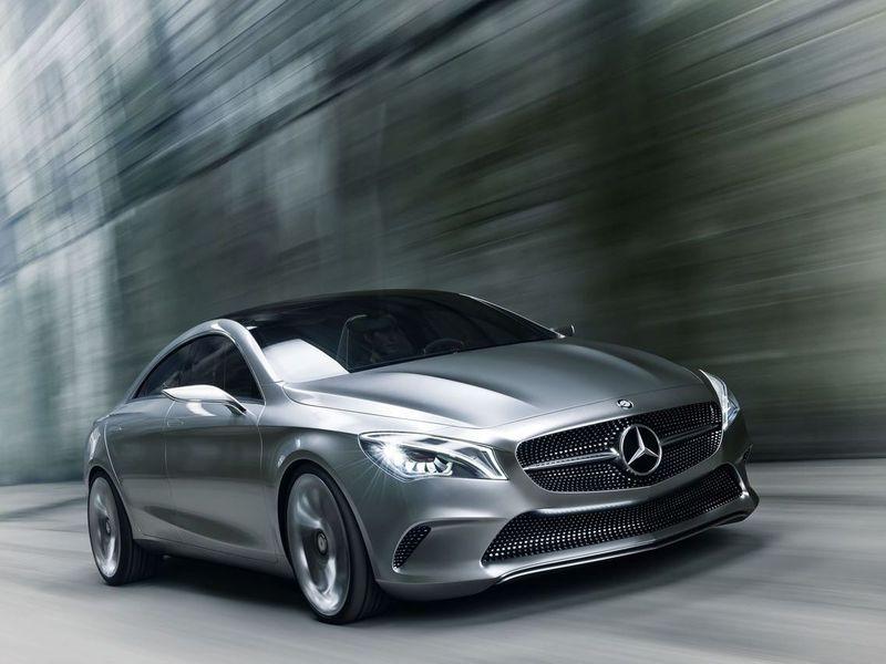 В Сеть попали фотографии пекинского концепта Mercedes-Benz