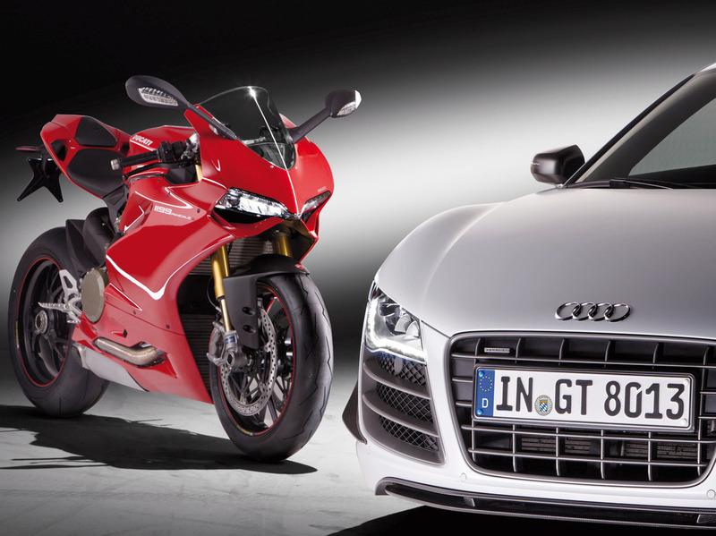 Audi официально объявила о покупке Ducati