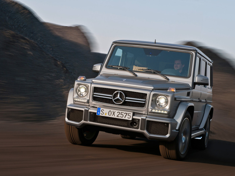 Mercedes-Benz представил заряженные G 63 AMG