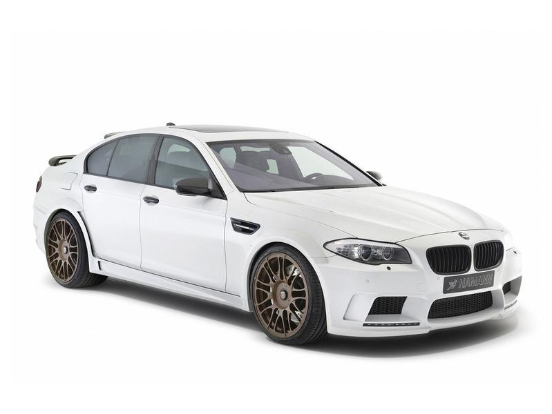 BMW M5 снабдили дополнительными 160 лошадьми
