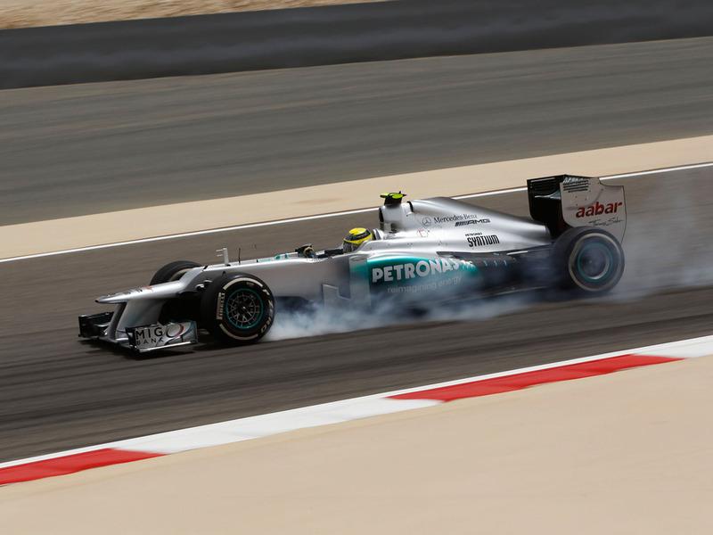 Гран При Бахрейна: Росберг подтверждает скорость Mercedes