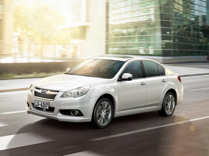 Subaru 2013 Legacy (Chinese specifications)