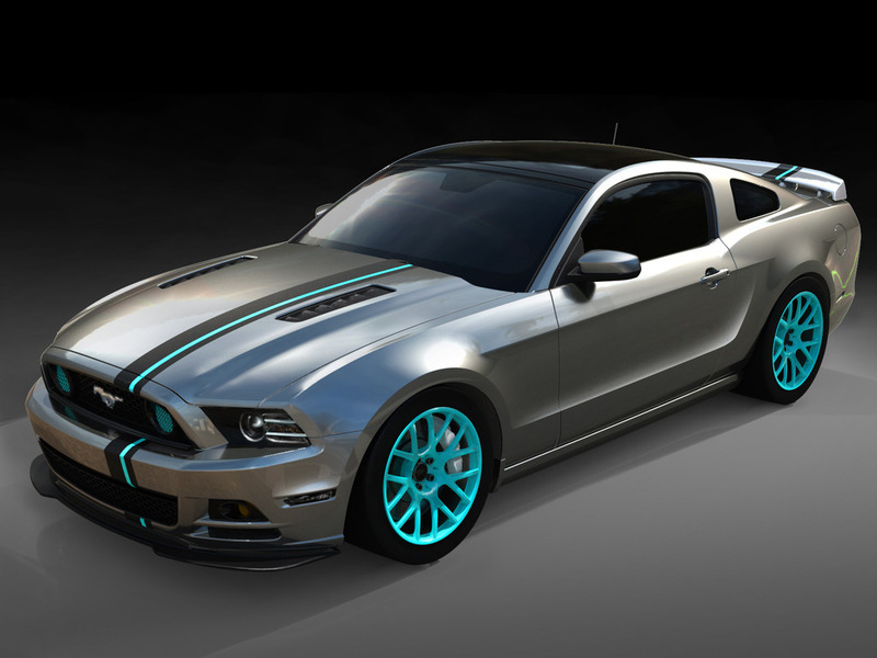 SEMA Mustang Build Chromatic Exterior by Jennifer Seely