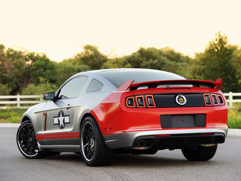 Ford 'Red Tails' Edition Mustang GT