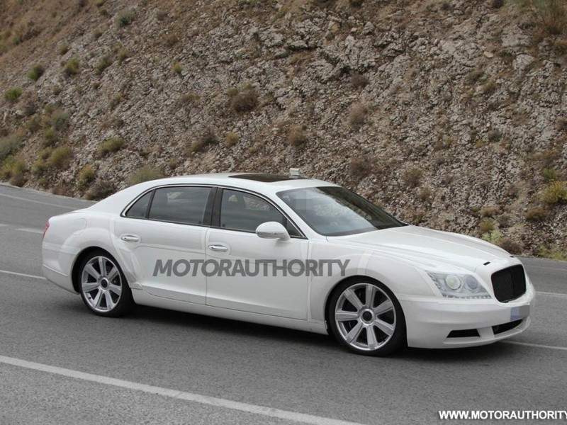 2014 Bentley Continental Flying Spur Spy