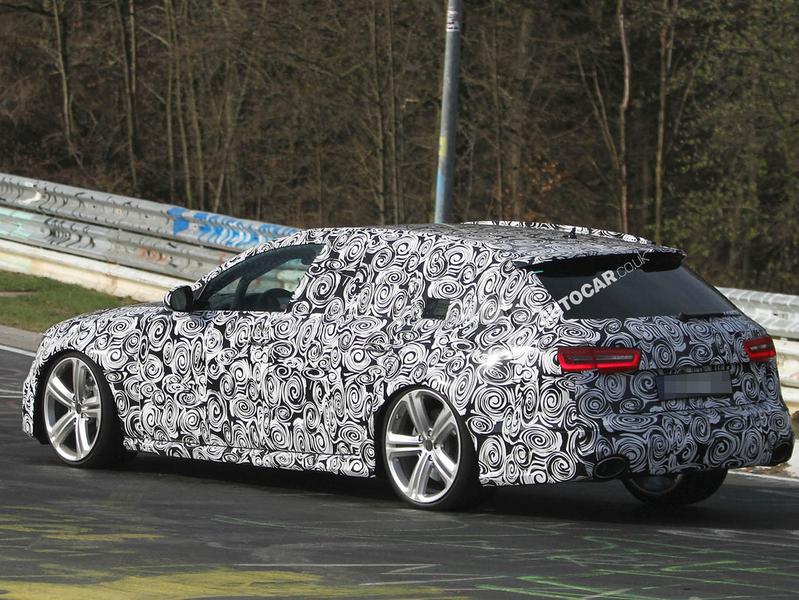 2014 Audi RS6 spy