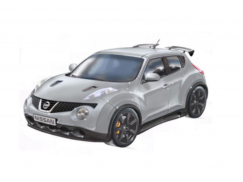 Nissan Juke-R Production Sketches