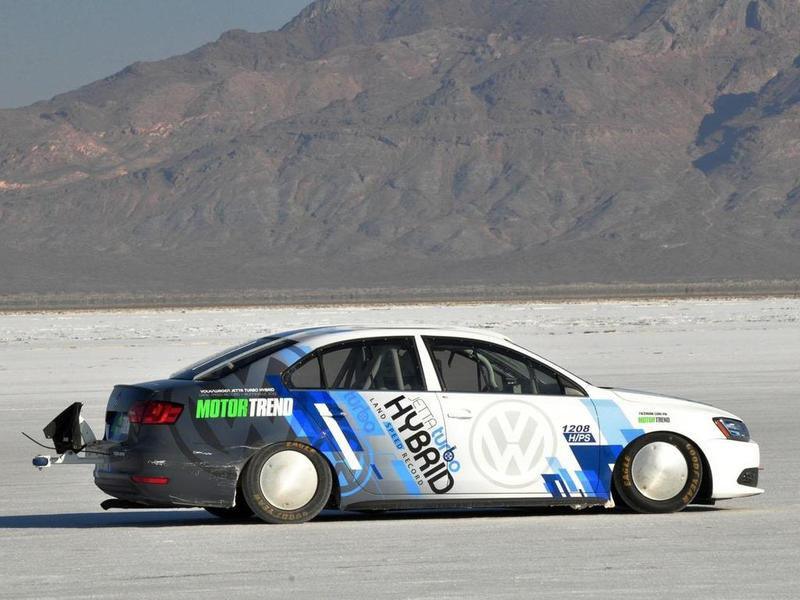 Volkswagen Jetta Hybrid land speed record