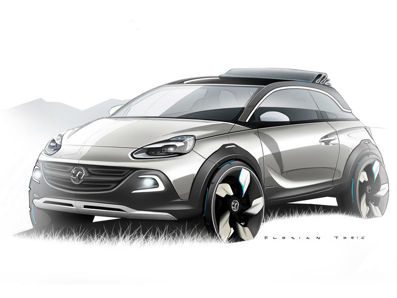 Opel Adams Rocks concept