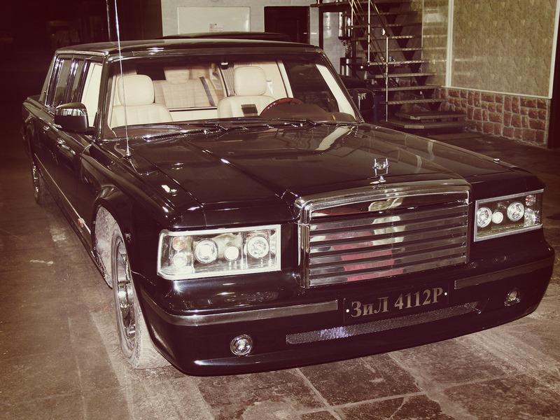 лимузин для президента ЗиЛ 4112Р