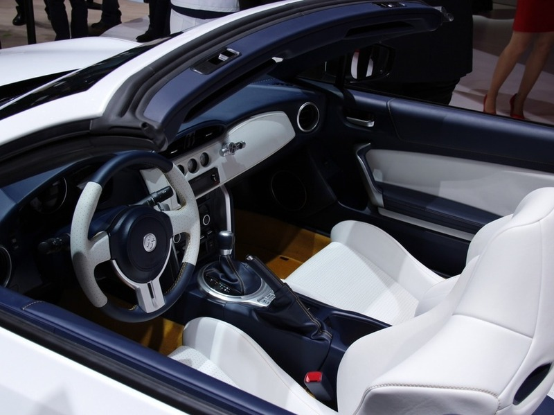 Toyota FT-86 open concept Женева