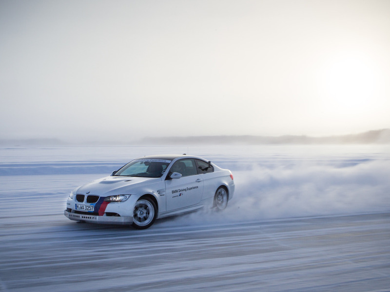 BMW Driving Experience Арьеплог