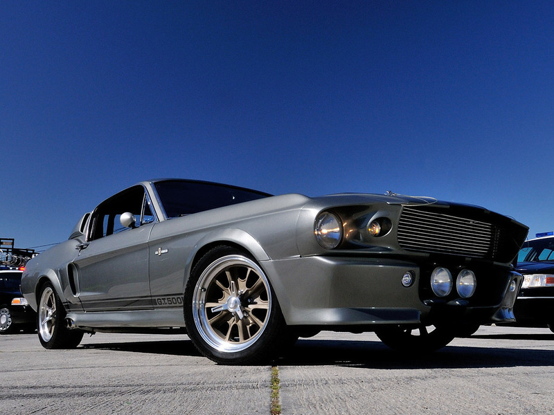 Ford Mustang Shelby GT500 Элинор Угнать за 60 секунд
