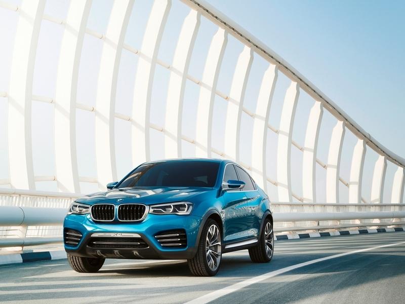 Опубликованы новые фотографии концепта BMW X4.