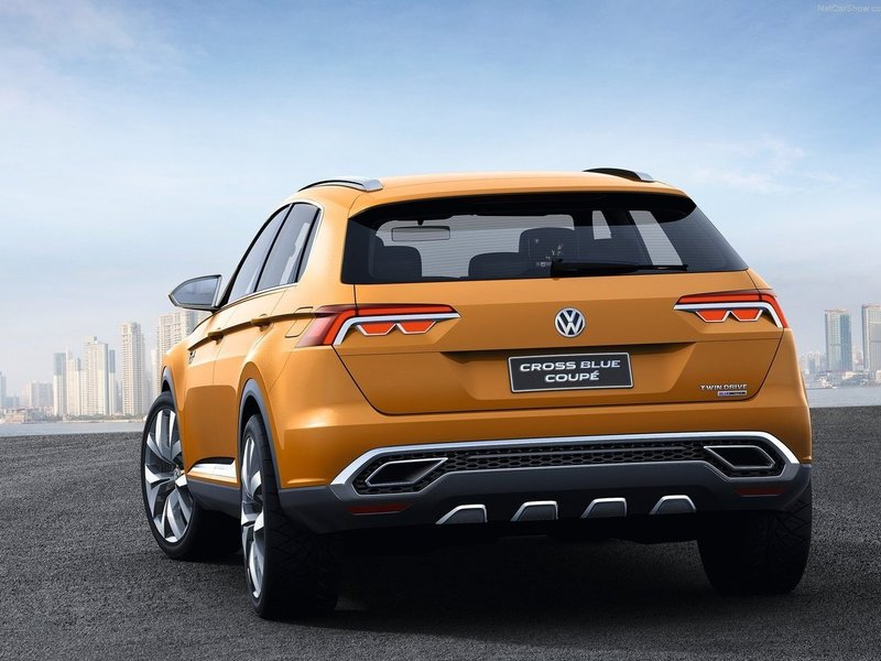 VW CrossBlue Concept Coupe