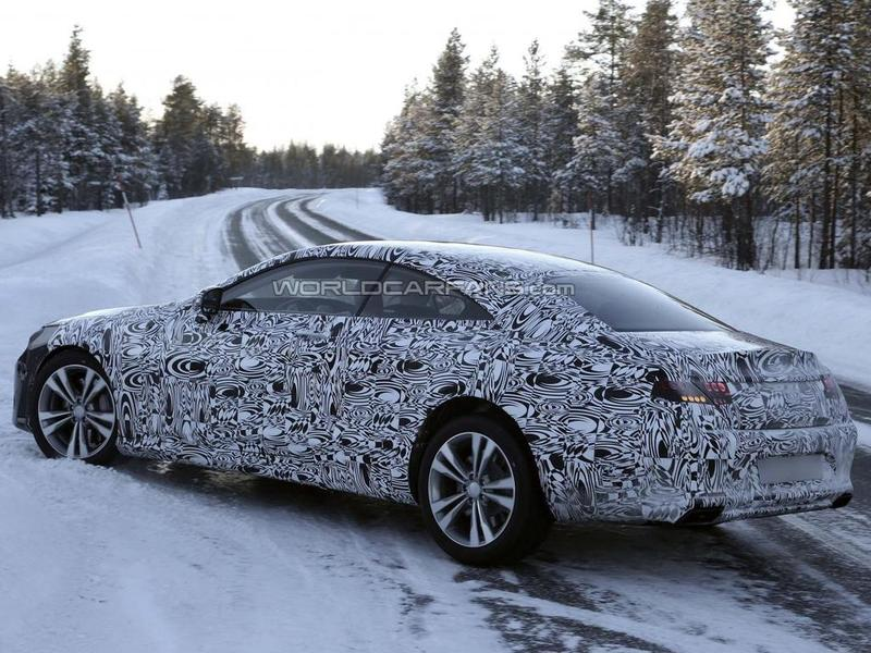 2014 Mercedes-Benz S-Class Coupe spy