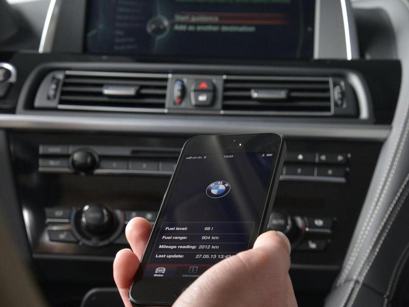 BMW ConnectedDrive телефон за рулем медиа салон