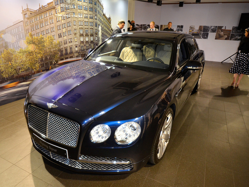 Bentley Flying Spur Москва