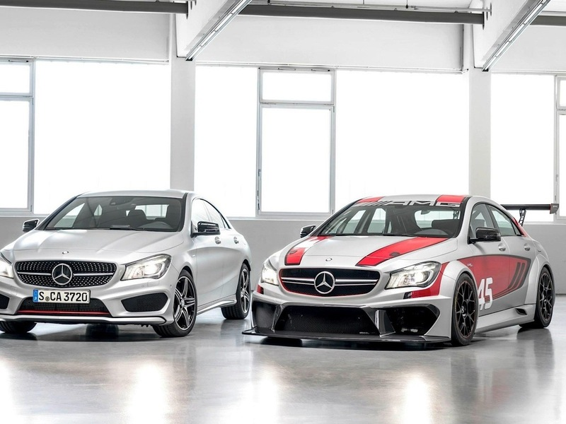 Mercedes Benz CLA 45 AMG Racing Series