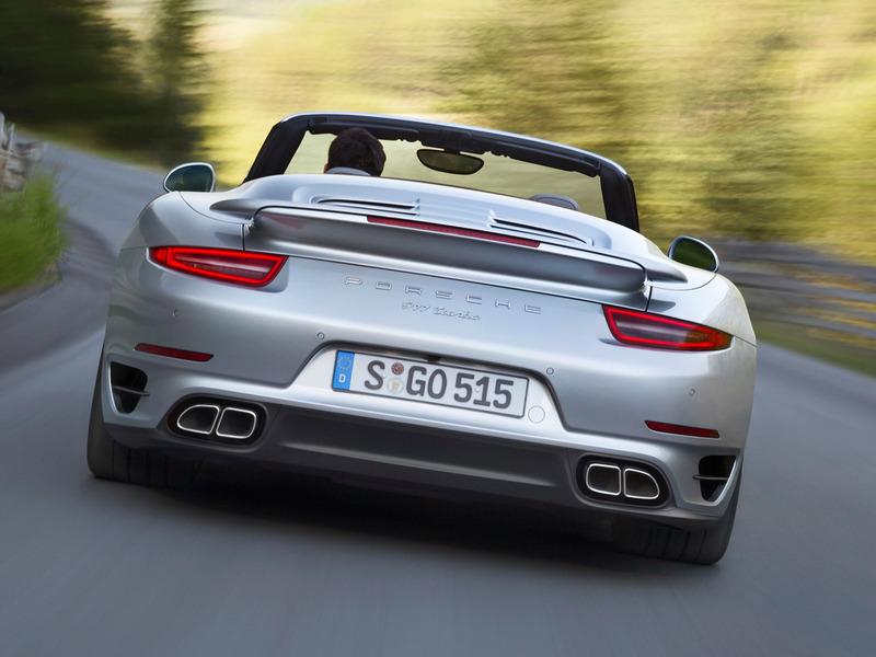 В Лос-Анджелесе Porsche лишила крыши 911 Turbo