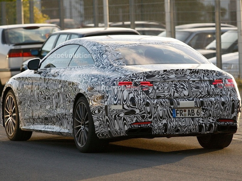 Mercedes-Benz S63 AMG Coupe spy