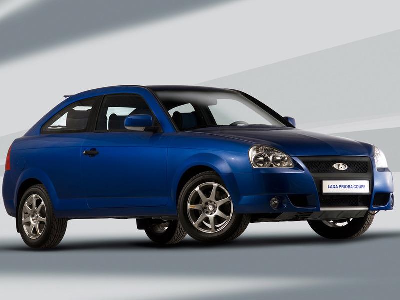 АвтоВАЗ выпустит бюджетную версию Lada Priora Coupe