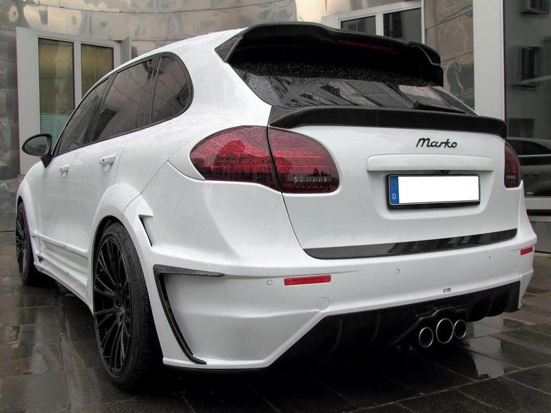 Porsche Cayenne Turbo Anderson White Dream тюнинг