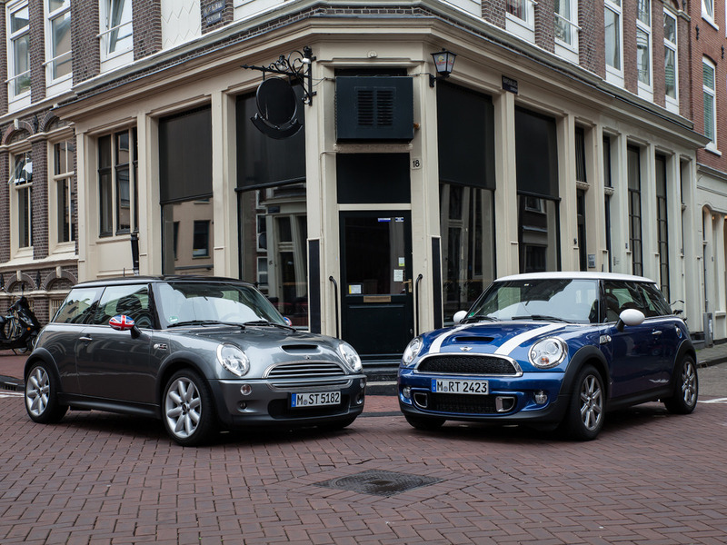 MINI Cooper S (Model Year 2005) and MINI Cooper S (Model Year 2013)