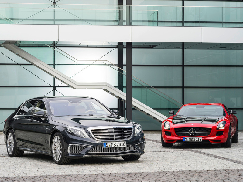 Mercedes-Benz S 65 AMG & SLS AMG GT Final Edition