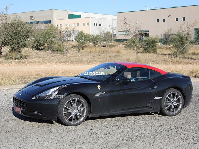 Новая Ferrari California получит внешность в стиле F12Berlinetta