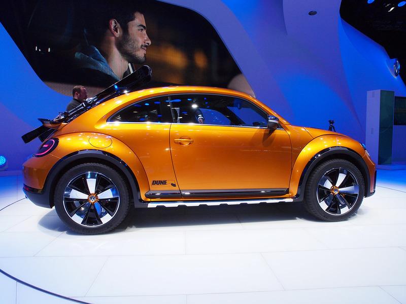 Внедорожный - VW Beetle может стать серийным
