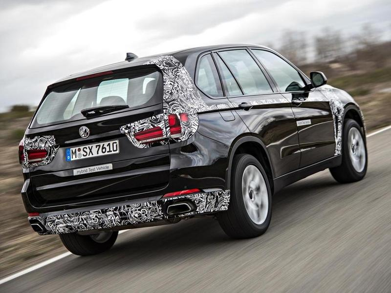 BMW X5 eDrive spy