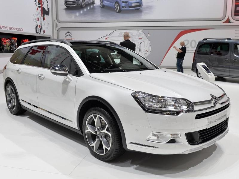 Citroen C5 Cross Tourer Женева