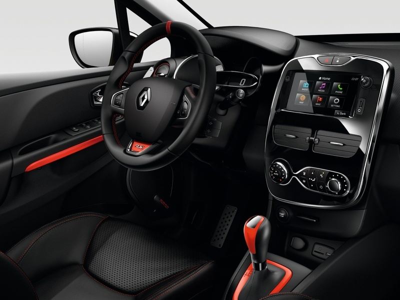 Renault Clio RS салон