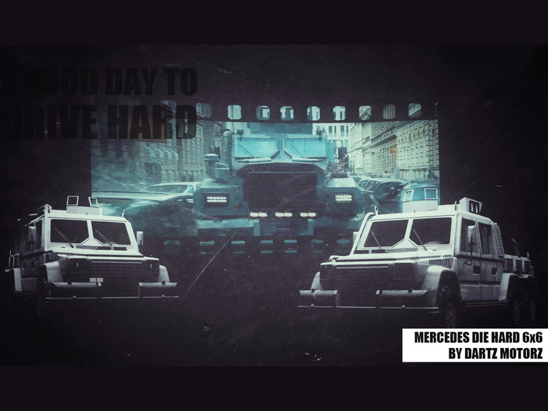 Drive Hard G6x6 by Dartz