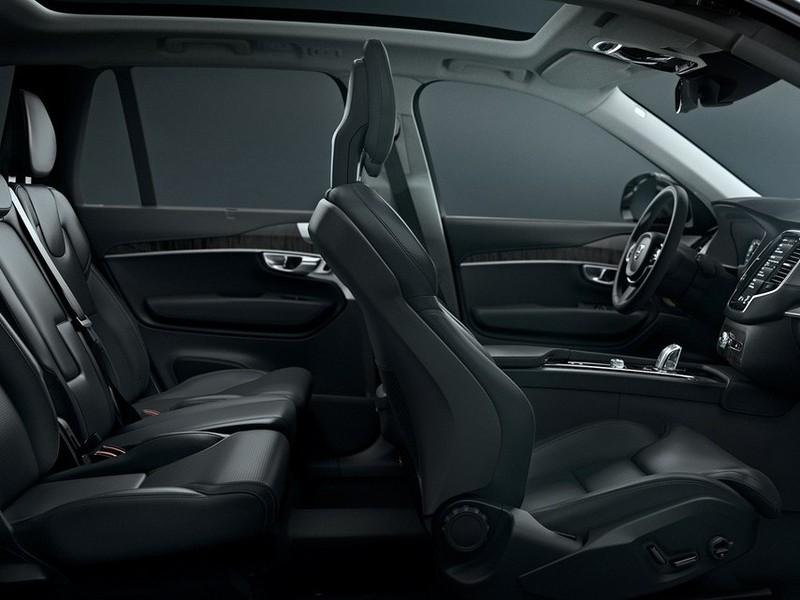 Volvo XC90 салон
