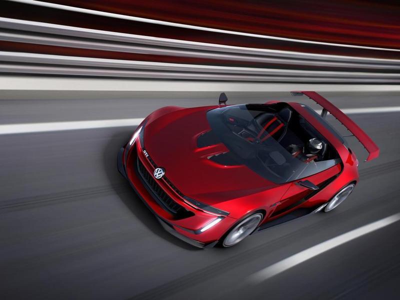 Виртуальный VW GTI Roadster стал реальностью