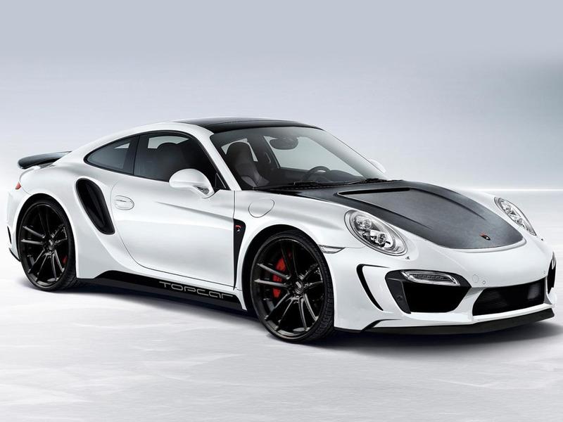 В московском тюнинг-ателье доработали Porsche 911 Turbo фото.1