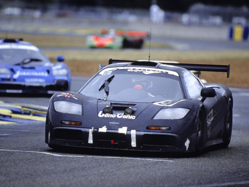 #59 McLaren F1 GTR at the 24 Heures du Mans, 17-18 June 1995