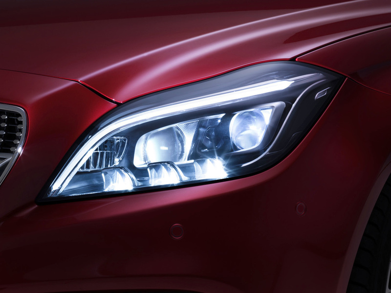 2014 Mercedes-Benz CLS-class MULTIBEAM LED