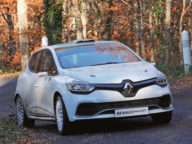 Renault Clio RS ралли