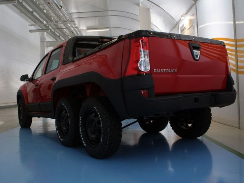 Dustruck: Dacia Duster 6x6 Pickup