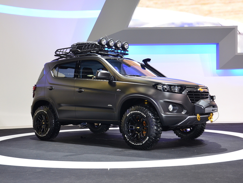 Chevrolet Niva concept ММАС-2014 1